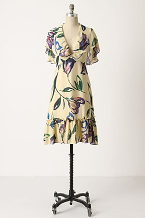 Anthropologie dress spring 2010